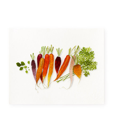 Sweet Carrots - Art Print
