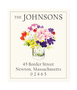 Whimsical Bunch - Return Address Labels
