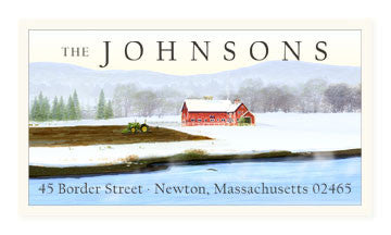 Peace On Earth - Panoramic Return Address Labels