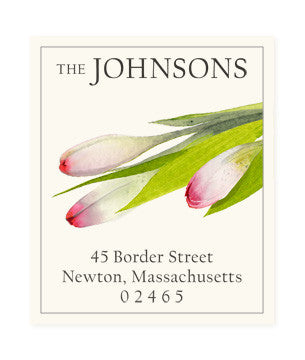 Early Spring - Return Address Labels