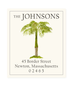 West Indies - Return Address Labels