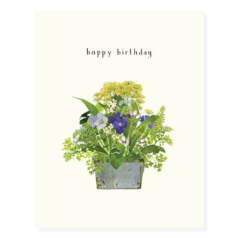 Flowers and Ferns - Occasion Card