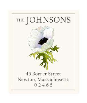 Anemone - Return Address Labels
