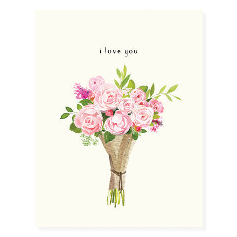 Blush Bouquet - Occasion Card