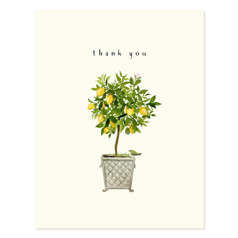 Lemon Topiary - Occasion Card