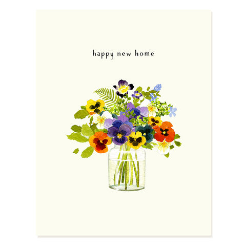 Pansies - Occasion Card