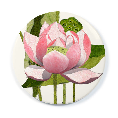 Lotus Blossoms - Pocket Mirror