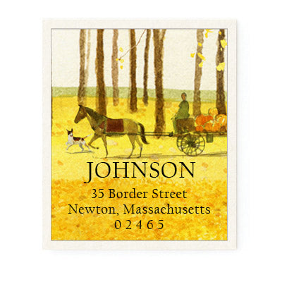 Autumn Fest - Return Address Labels