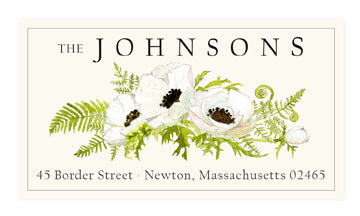 Anemone Trio - Panoramic Return Address Labels