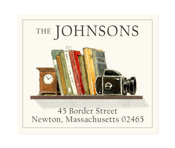 Book Society - Return Address Labels
