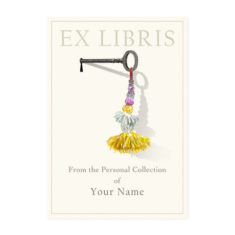 Key with Tassel - Bookplates