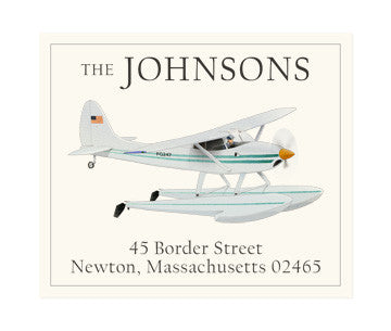 Water Glider - Return Address Labels