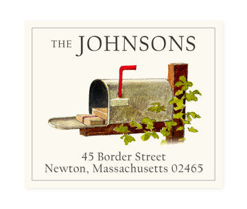 Parcel Post - Return Address Labels