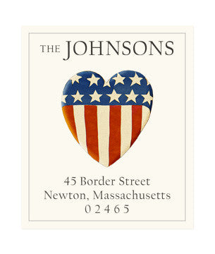 We Love Our Country - Return Address Labels