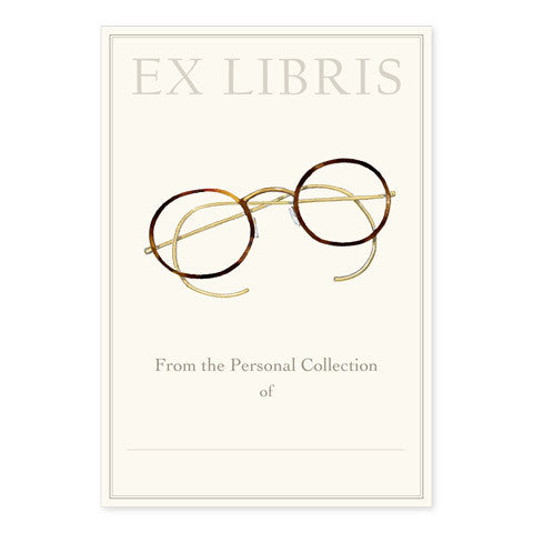 Spectacles - Large Bookplates