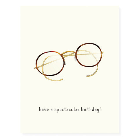Spectacles - Occasion Card