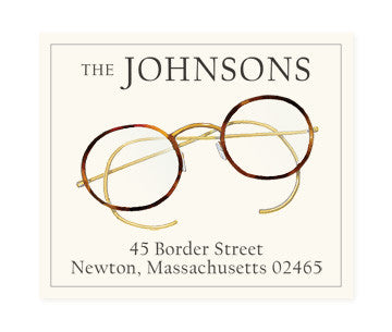 Spectacles - Return Address Labels
