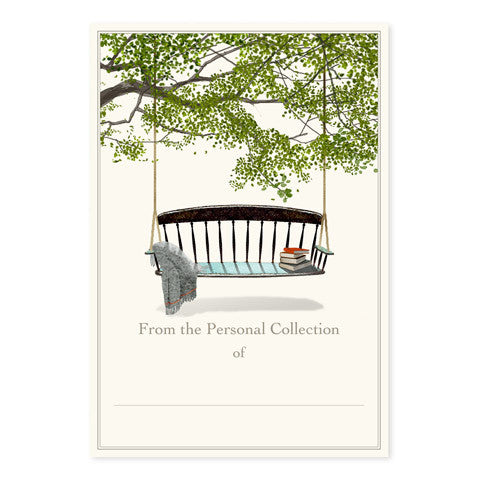 Swinging Bench - Large Bookplates
