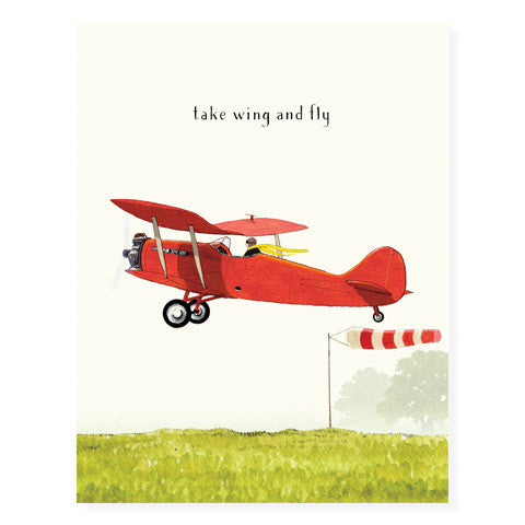 Taking Off - Occasion Card