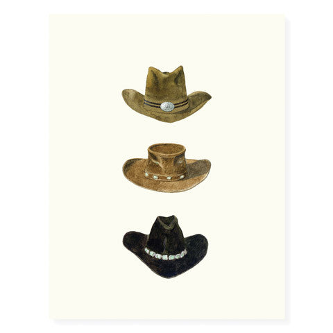 Cowboy Hats - Occasion Card