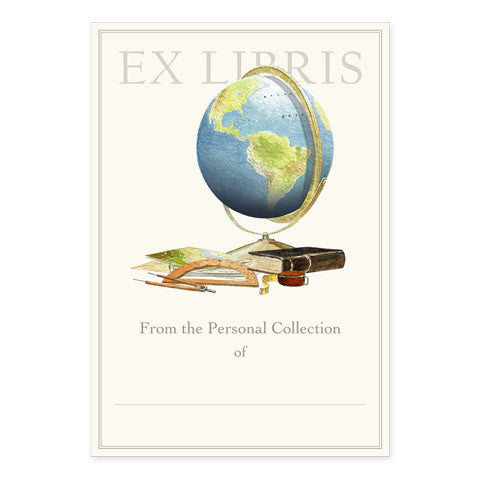 Let's Travel - Large Bookplates