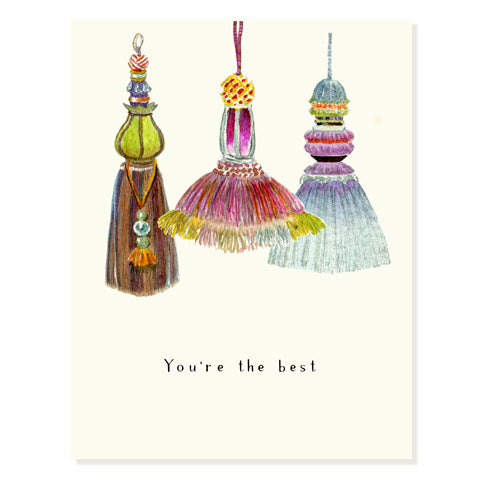 Tassels - Occasion Card