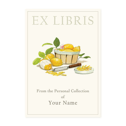 Lemon Basket - Bookplates