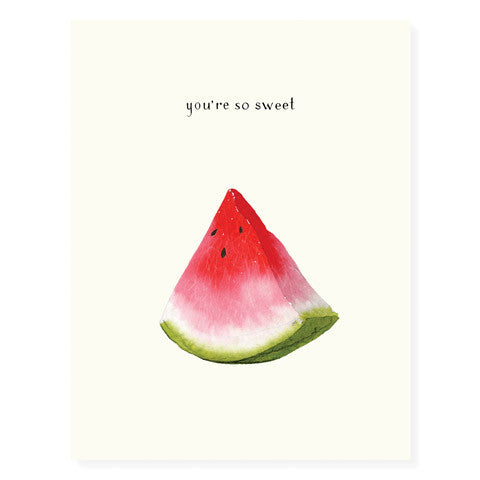 Watermelon Slice - Occasion Card