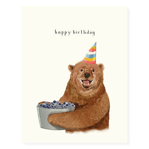 Berry Bear - Occasion Card
