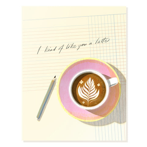 Latte - Occasion Card