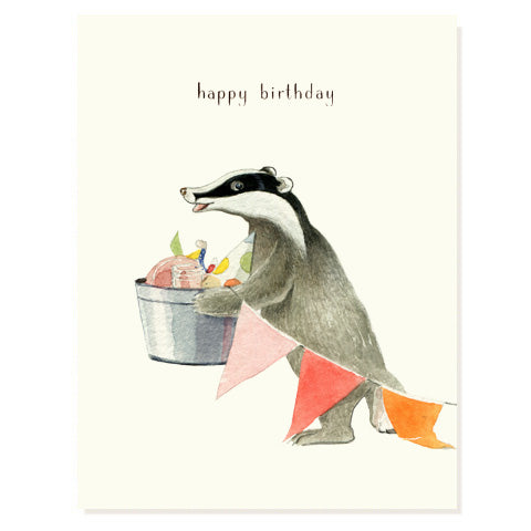 Birthday Badger
