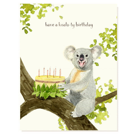 Koala Tree Birthday