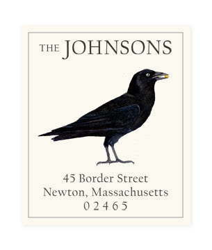 Black Crow - Return Address Labels