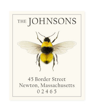 Bumblebee - Return Address Labels