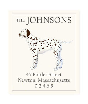 Dalmatian - Return Address Labels