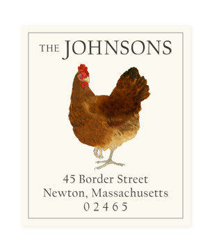 Henrietta - Return Address Labels
