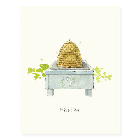 Hive Five - Occasion Card