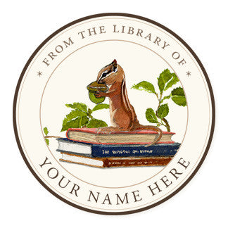 Nuts for Reading - Ex Libris Medallions