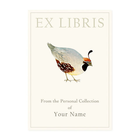Quail - Bookplates