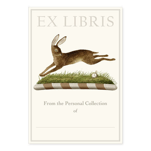 March Hare - Large Bookplates