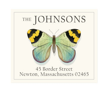 Yellow Tips - Return Address Labels