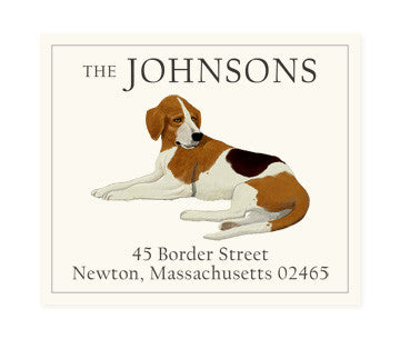 Beagle B - Return Address Labels