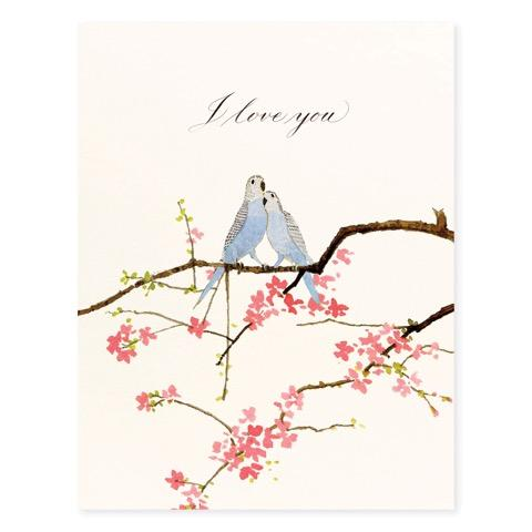 Lovebirds - Occasion Card