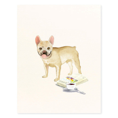 French Bulldog - Occasion Card