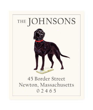 Black Lab - Return Address Labels
