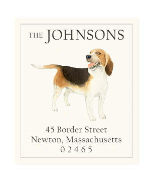 Beagle - Return Address Labels