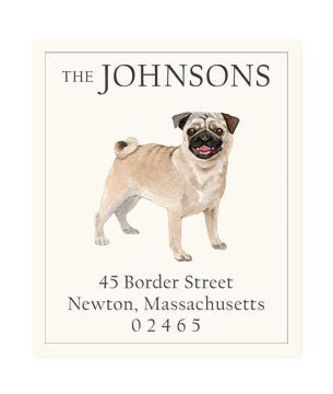 Pug - Return Address Labels