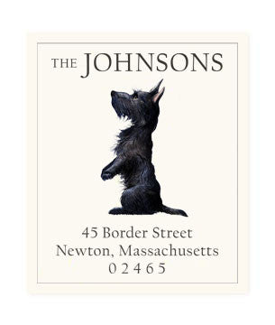 Scottish Terrier - Return Address Labels