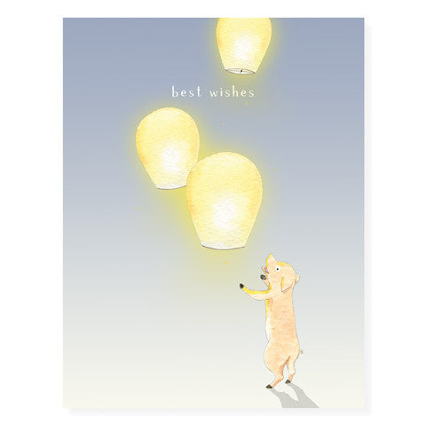 Lantern Wishes - Occasion Card