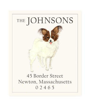 Papillon - Return Address Labels
